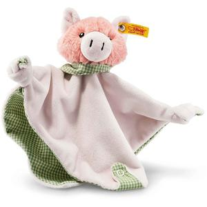 STEIFF Happy Farm Piggilee Schwein Schmusetuch mit Rassel 25cm
