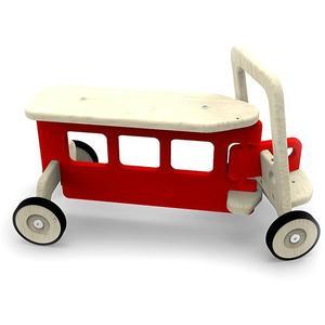 ARTIGO Rutschfahrzeug Bus rot