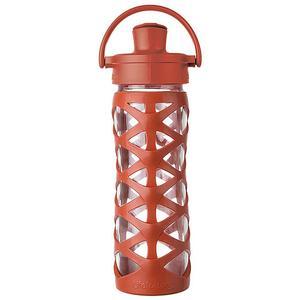 LIFEFACTORY Glas-Trinkflasche 475ml