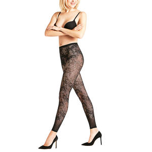 FALKE Netz Leggings Eden Black