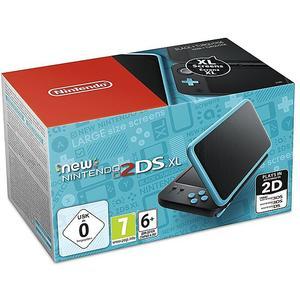 NINTENDO 3DS New Nintendo 2DS XL Konsole (schwarz/türkis)