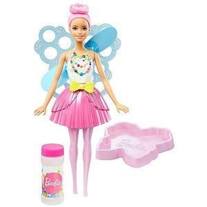 MATTEL Barbie Dreamtopia Seifenblasen Fee Puppe