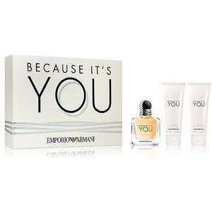 GIORGIO ARMANI Geschenkset - Because it's YOU Eau de Parfum 50/2x75ml