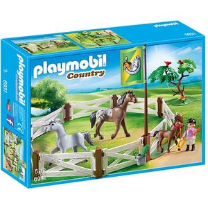 PLAYMOBIL Pferdekoppel 6931