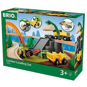 BRIO Bahn Waldarbeiter Set