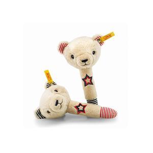 STEIFF Teddybär Band Niklie Teddybär Rasselset