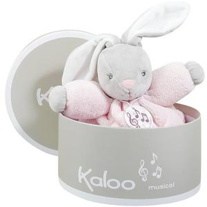KALOO Spieluhr Hase Plume 18cm (rosa)