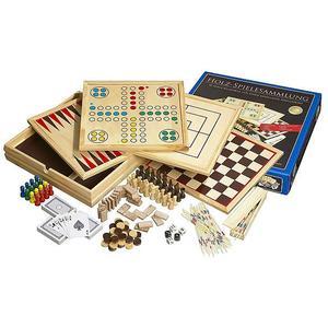 PHILOS Spielesammlung aus Holz 10