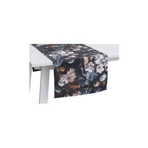 PICHLER Tischläufer Boudoir 50x150cm (Rauchblau)