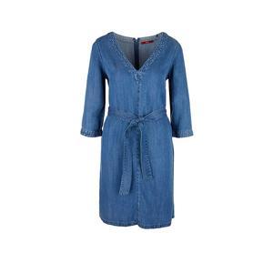 S.OLIVER Kleid in Jeansoptik