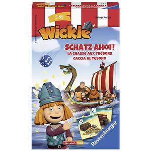 RAVENSBURGER Wickie Schatz Ahoi Mitbringspiel