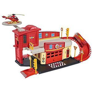 DICKIE Feuerwehrmann Sam Fire Rescue Centre - Rettungsstation