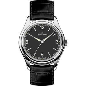 Herren Armbanduhr St. Moritz P-837A schwarz