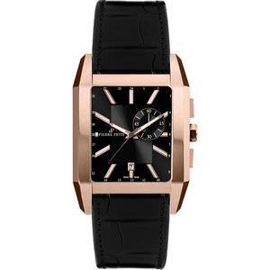 Herren Armbanduhr Paris P-862C schwarz / rosè