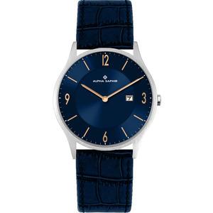 Herren Armbanduhr d. blau
