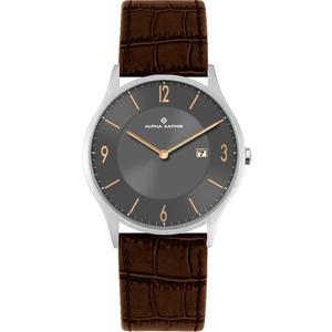 Herren Armbanduhr grau