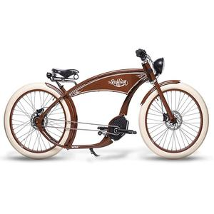 RUFFIAN E-Bike 26 Cruiser The Ruffian Brown