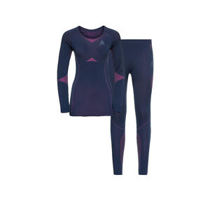 ODLO Damen Funktionswäsche WINTER SPECIALS PERFORMANCE EVOLUTION WARM Baselayer-Set