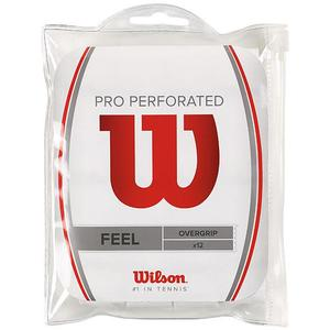 WILSON Tennisovergrips Pro Perforated 12er