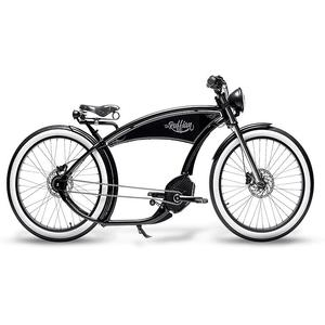 RUFFIAN E-Bike 26 Cruiser The Ruffian Black
