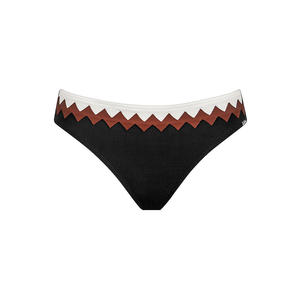 LIDEA Damen Bikinihose Zigzag