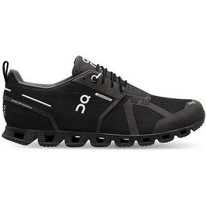 ON Herren Laufschuh The Cloud Waterproof BLACK LUNAR