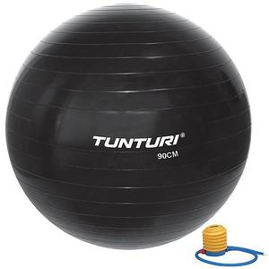 TUNTURI Gymnastikball 90 cm mit Pumpe