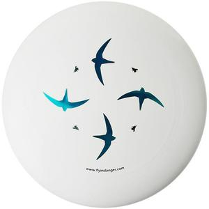 FLY IN DANGER Frisbee Ultimate Disc Circle