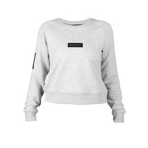 MOROTAI Damen Sweater Naka Bloc Logo