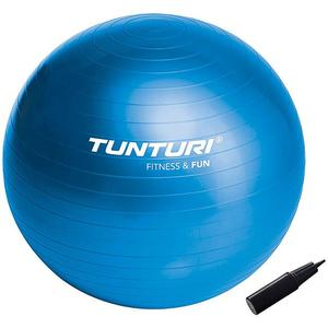 TUNTURI Gymnastikball 65 cm mit Pumpe