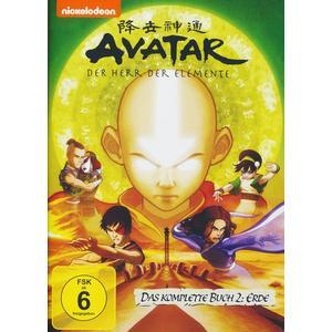 Avatar - Der Herr der Elemente/Buch 2: Erde - Box [4 DVDs]