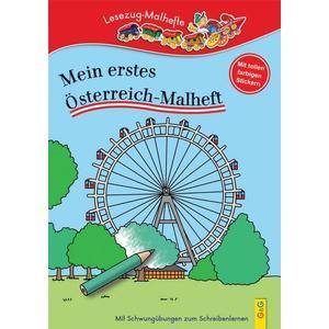 LESEZUG/ Malbuch: Mein erstes Österreich-Malheft