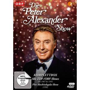 Die Peter Alexander Show - Komplettbox (Alle ZDF-Shows von 1987-1995 plus Abschiedsgala) - Fernsehjuwelen [4 DVDs]