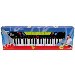 Simba 106835366 - My Music World Keyboard Modern Style, MMW, 54x17cm