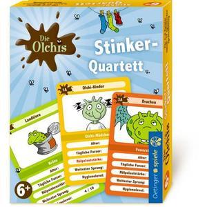 Die Olchis, Stinker-Quartett (Kinderspiel)