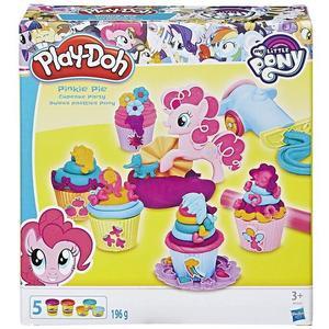 Hasbro B9324EU4 - Play Doh, My little Pony Pinkie Pies Cupcake Party, Knete