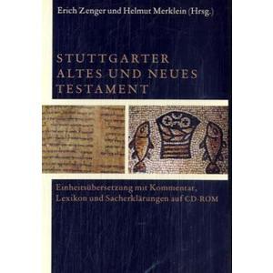 Stuttgarter Altes und Neues Testament. CD-ROM für Windows Vista/XP