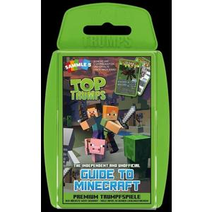 Top Trumps, The Independent & Unofficial Guide to Minecraft (Spiel)