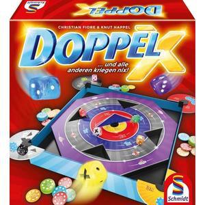 Schmidt 49339 - Doppel X, Familienspiel, Würfelspiel