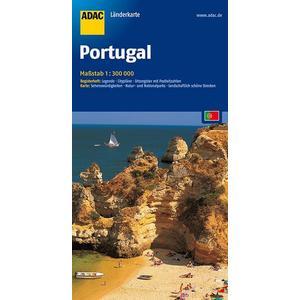 ADAC LänderKarte Portugal 1:300 000