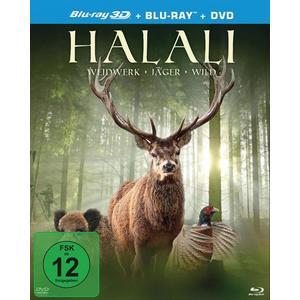 Halali - Weidwerk, Jäger, Wild (+ Bluray-2D) (+ DVD)