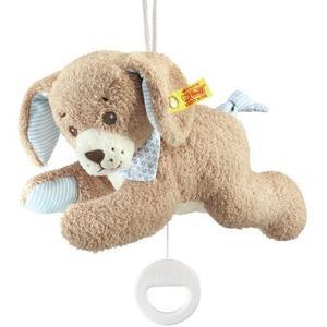 Steiff 239700 - Gute-Nacht-Hund Spieluhr, 22 cm