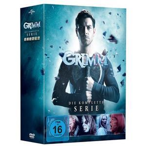 Grimm - Die Komplette Serie - Staffel 1-6 [28 DVDs]