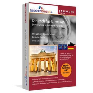 Sprachenlernen24.de Deutsch für Slowaken Basis PC CD-ROM