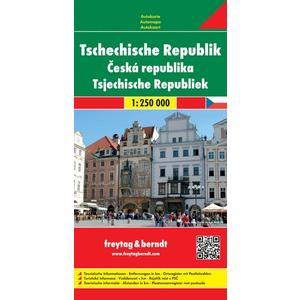 Tschechische Republik 1 : 250 000 Autokarte