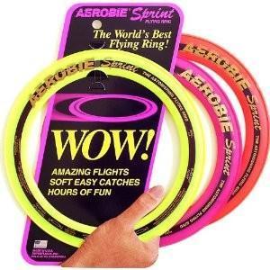 Aerobie Wurfring, Frisbee, 25 cm Durchmesser, farblich sortiert