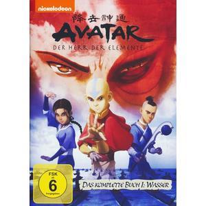 Avatar - Der Herr der Elemente/Buch 1: Wasser - Box [5 DVDs]