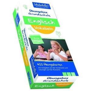 Englisch Vokabeln Übungsbox Grundschule, 1. und 2. Lernjahr,