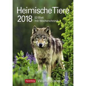 Heimische Tiere - Kalender 2018 / Kalender