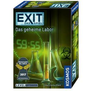 EXIT, Das Spiel - Das geheime Labor, Kennerspiel des Jahres 2017